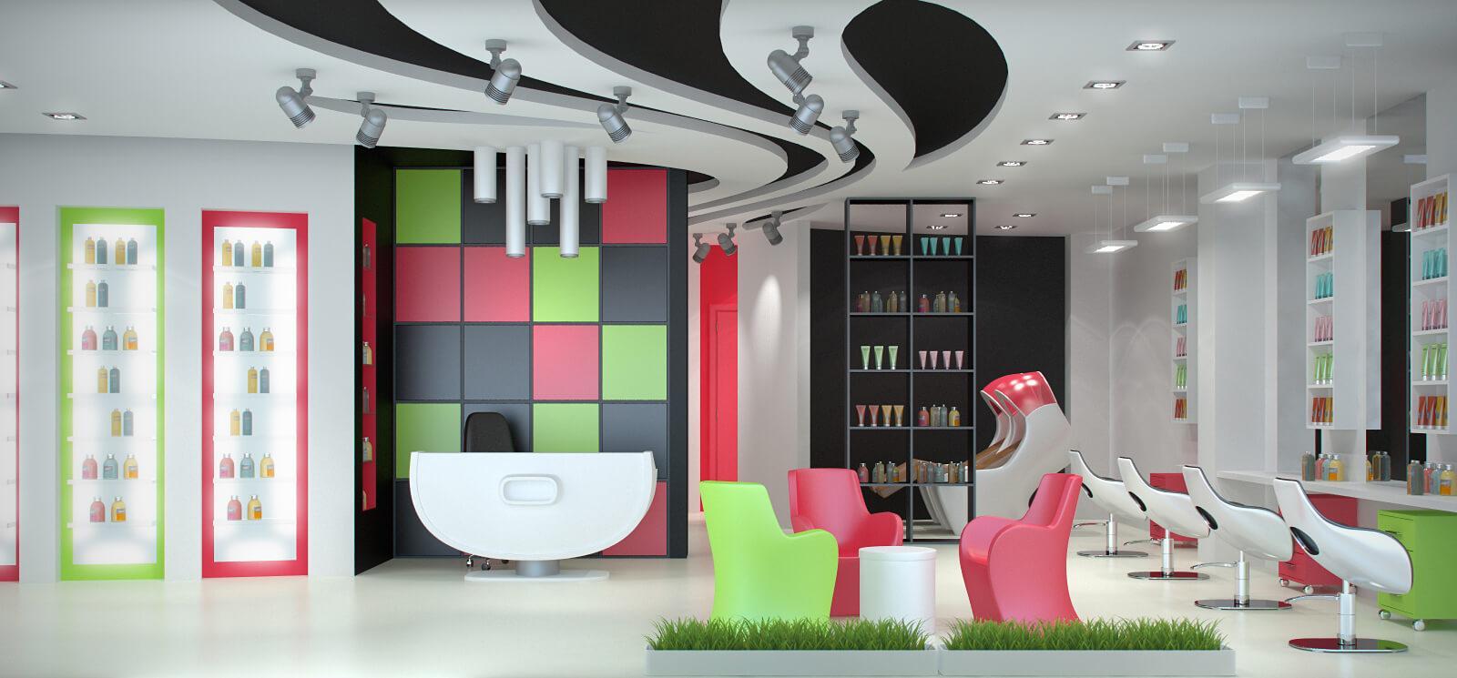 Оснащение салонов красоты и парикмахерских